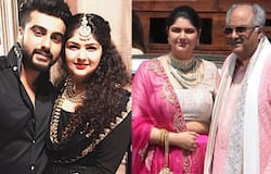 "<p>Arjun's sister Anshula Kapoor finds it ""awkward"" when it comes to discussing her brother's dating life. Anshula said, ""He's (Arjun Kapoor) six years older than me. We don't really discuss these things. It's awkward,"" Anshula told Mid-Day in an interview.<br /> &nbsp;</p>"