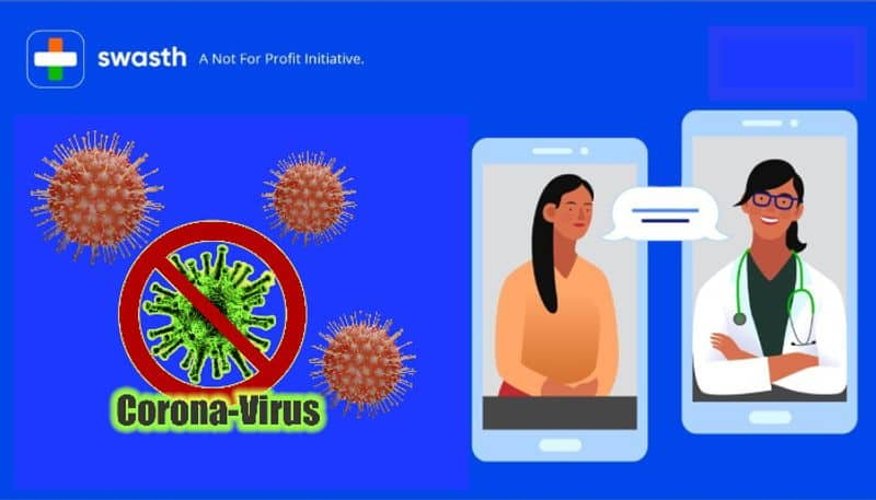 Digital Healthcare app Swasth launched to provide free Corona care DD