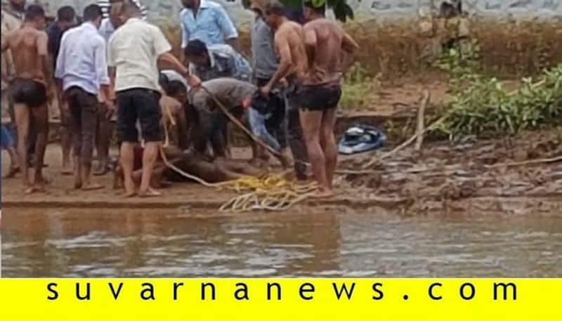 Youth drowned in Thriveni sangama madikeri