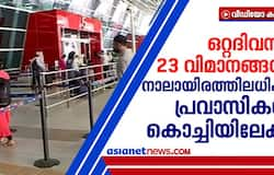 <p>more than 4000 expatriates come to kochi by 23 flights</p>