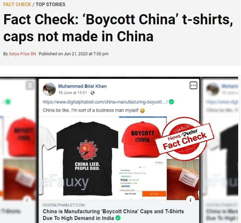 Boycott China t shirts and caps made in China here is the facts