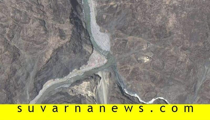 Satellite images reveal Chinese structures back at Galwan