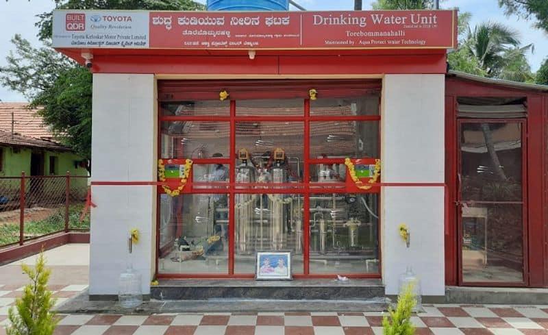 Toyota Kirloskar Motor Enables Access to Clean Drinking in Mandya