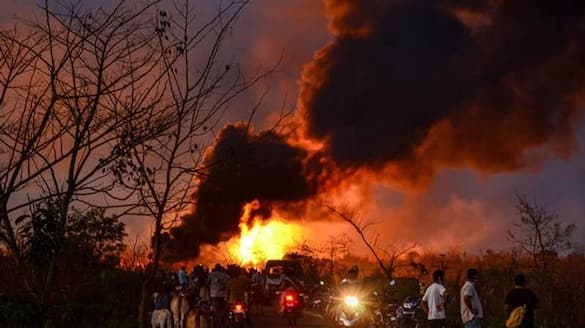 Eleven people dead after gas pipeline explosion in China lns