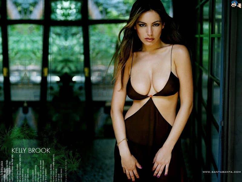 केली ब्रूक 16 साल की उम्र में एक पेशेवर मॉडल बन गई थी।