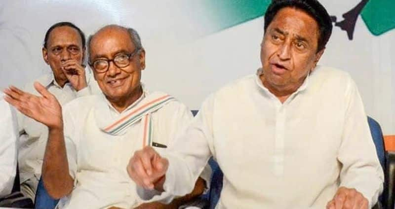 If power goes, then Kamal Nath and Digvijay Singh, pro-Diggy leader were out of the organization
