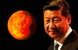 <p>Xi Jinping Mars</p>