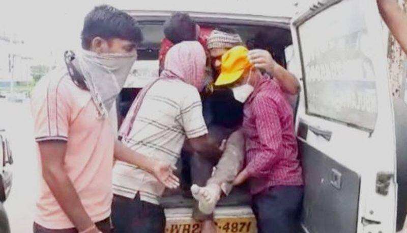 BJP Supporters attacked in the premises of BDO office in Sandeshkhali