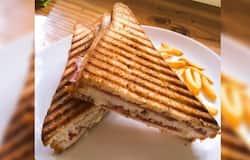 <p>Paneer Crushed Toast Sandwich</p>