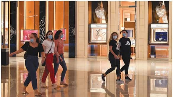 green pass mandatory for public places in abu dhabi malls train staff