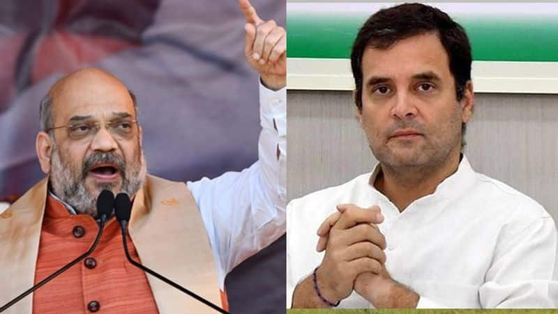 Amit Shah gave a befitting reply to Rahul Gandhi, be ready for two or two hands in Parliament