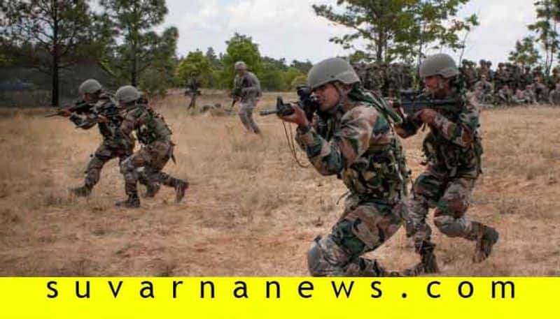 3 terrorists eliminated by Indian army in ensuing gunfight Jammu Kashmir