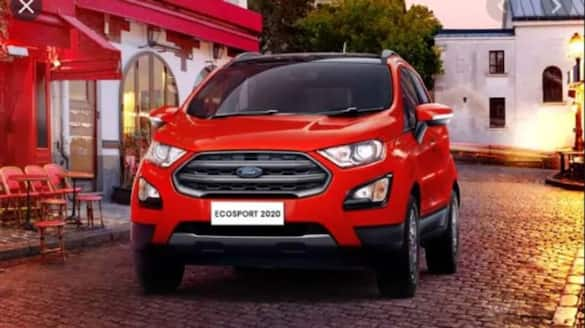 Ford India restarts EcoSport production for exports in Chennai plant