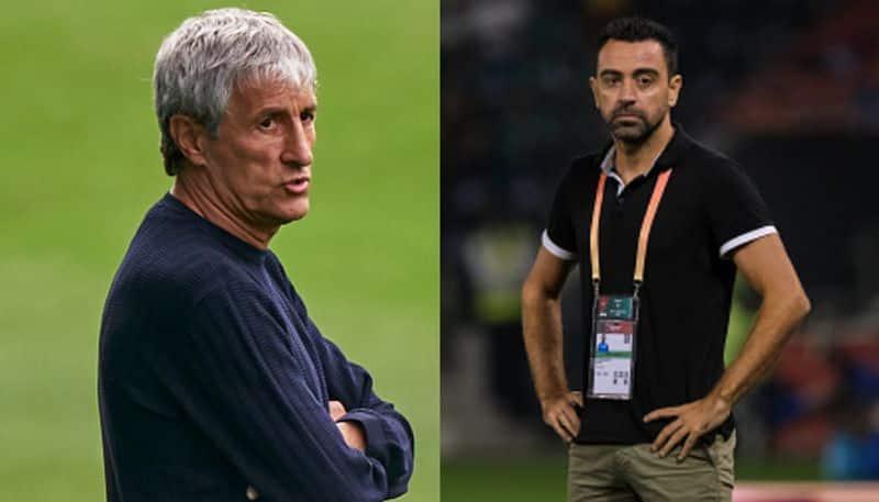 Barca coach Quique Setien could lose his job, Xavi Hernandez ready to take charge sp
