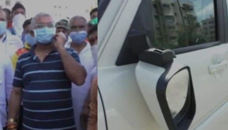 BJP State president Dilip Ghosh attacked during morning walk in Newtown