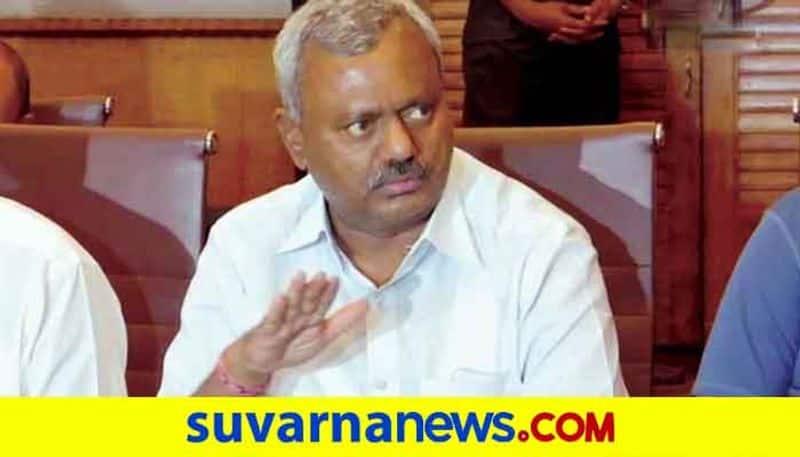 Minister Somashekar Visits KR Hospital Mysuru snr