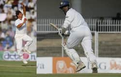 <p>Rahul Dravid, David Johnson</p>