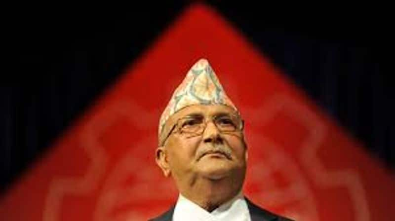 Dragon failing to save One's chair, battered PM Oli