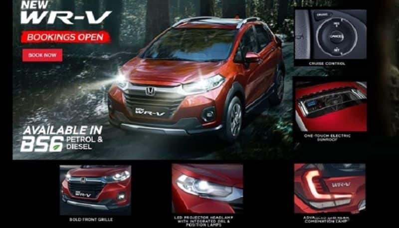 2020 Honda WR V Facelift Launched In India