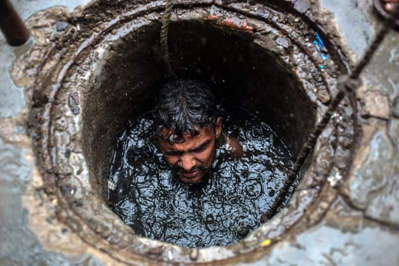 Involving humans in the task of disposing of sewage Water is an inhumane act .. Judges are tormented ..