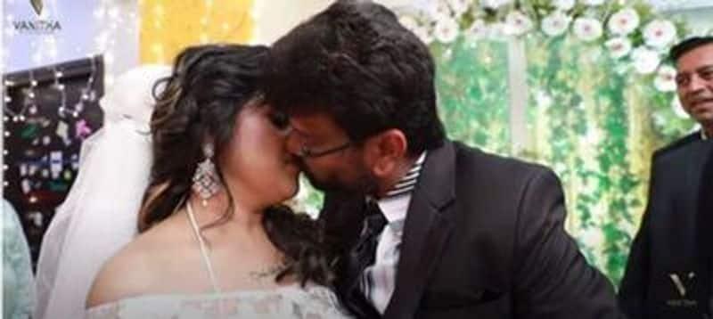 Netizens slam vanitha peter paul another lip lock video in youtube live