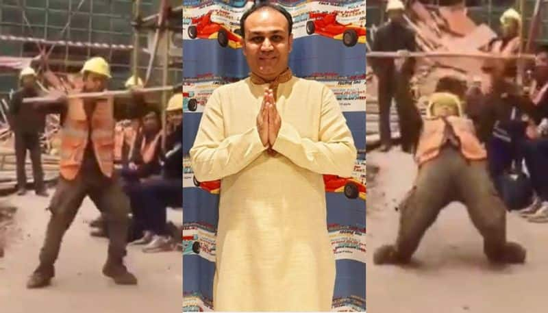 Virender Sehwag shared a video of a man dancing on social media, says Michael Jackson's reincarnation bsp