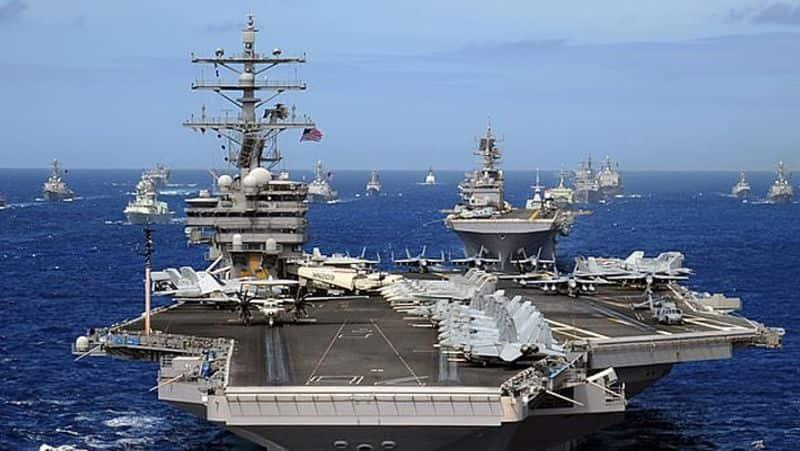 US warship in Indian Ocean , China, Pakistan in terrible shock