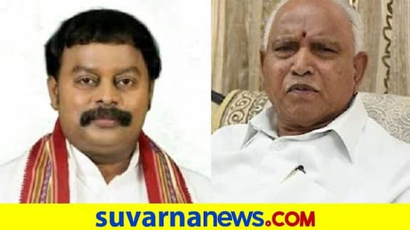 former mlc sharavana requests CM BSY to open jewellery and cloth store rbj