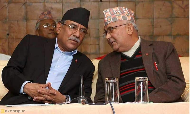 Oli is conspiring to save the chair, Oli and Prachanda will meet again today