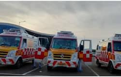 <p>108 ambulance&nbsp;</p>