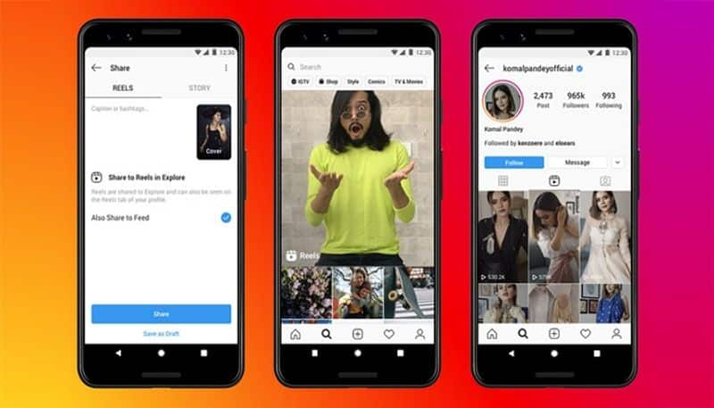 Instagram replace tiktok in India with reels  up lode 15 seconds video  bsm