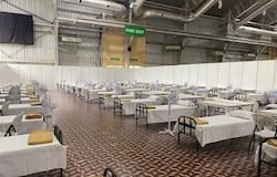 """<h1 itemprop=""""headline"""">The country's biggest COVID Care Centre, with 10,100 beds, opened at Bengaluru International Exhibition Centre (BIEC) on Tumakuru Road last week.</h1>"""