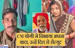 <p>कानपुर में बिकरू गांव में 8 पुलिसवालों की हत्या कर फरार हुए गैंगस्टर विकास दुबे को यूपी एसटीएफ ने मार गिराया है। विकास दुबे के एनकाउंटर में ढेर होने के बाद शहीदों के परिवार ने खुशी व्यक्त किया है। झांसी के भोजला गांव निवासी सिपाही सुल्तान सिंह वर्मा का परिवार विकास के एनकाउंटर से काफी खुश है। शहीद सुल्तान सिंह की पत्नी उर्मिला ने कहा कि सीएम योगी आदित्यनाथ ने पहले ही वादा किया था, कि शहीद पुलिस कर्मियों की शहादत व्यर्थ नहीं जाएगी। उन्होंने सीएम योगी को धन्यवाद देते हुए कहा कि जो योगी जी ने जो वादा किया था उसको निभाया हैं। हम उन्हें दिल से सैल्यूट करते हैं।&nbsp;</p>