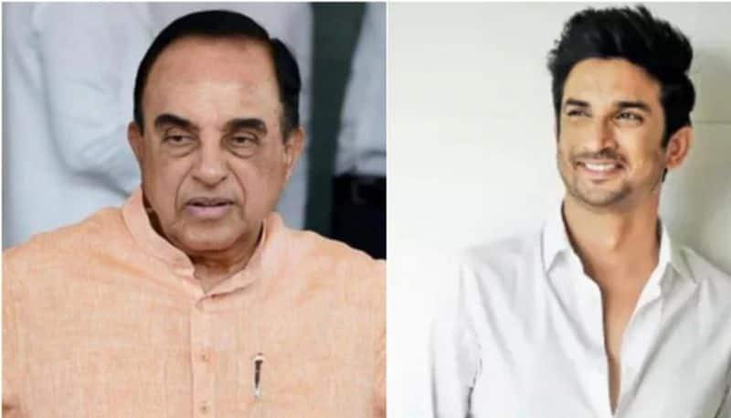Sushant Singh Rajput suicide case: bjp mp Subramanian Swamy backs demand for CBI inquiry