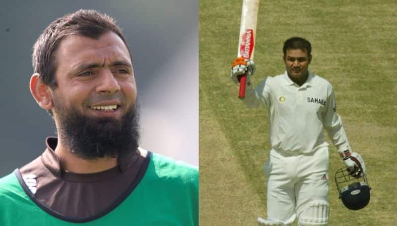 Sachin Tendulkar's 136 runs inings at in 1999 beter than Virender Sehwag's 309 at Multan,sais Saqlain Mushtaq bsp