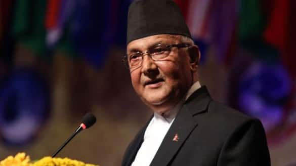 PM KP Oli sharma sparked another controversy claiming that yoga originated Nepal not in India ckm