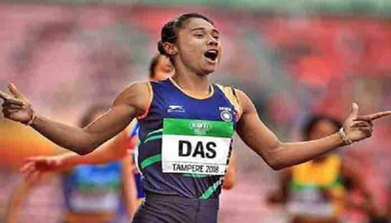 Hima Das is not worried despite not being able to qualify for the Olympics kpl