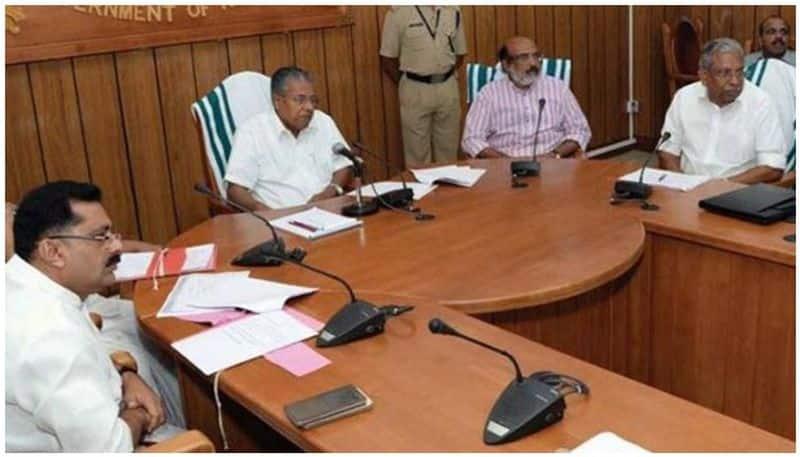 Kerala Cabinet meeting 17 feb 2021