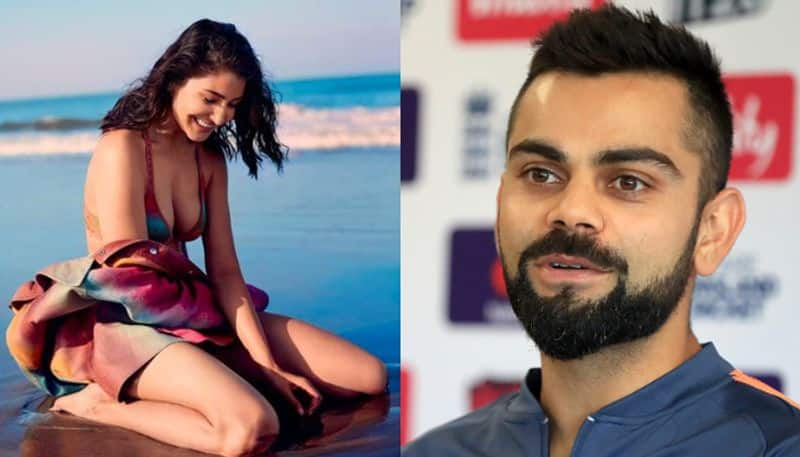 After Seeing Anushka Sharma's hot photo shoot, Virat Kohli became clean bold bsp