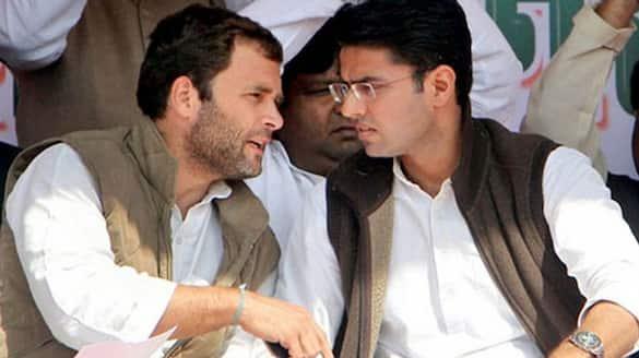 congress concentrating on rajasthan.. sachin pilot met rahul gandhi