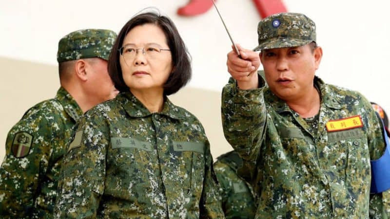 Dragon gave a big blow to America, Taiwan's strength will increase