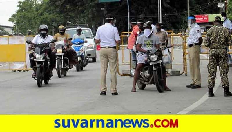 People Not Follow Lockdown Rule in Gadag District grg
