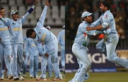 <p>2007 bowled out</p>