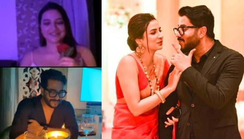 second marriage anniversary of raj chakraborty and subhashree Ganguly BJC