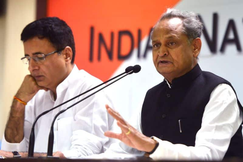 Crisis on the government in Rajasthan, police claim conspiracy to topple Gehlot government