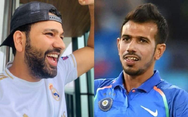 Yuzvendra Chahal No Jhadu No Pocha  Troll For Rohit Sharma's Real Madrid Appreciation Post