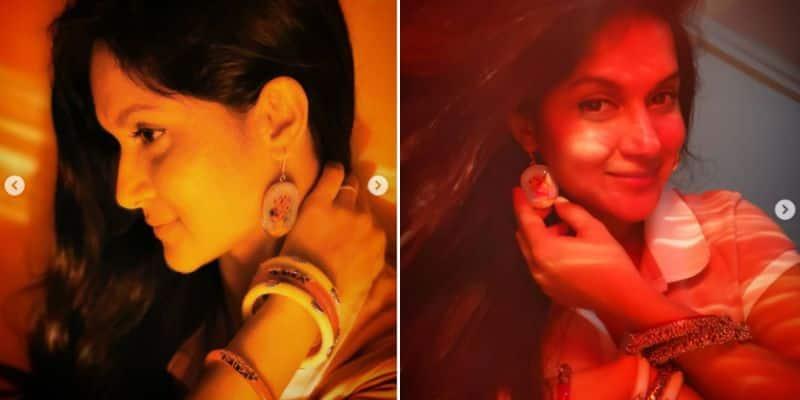 wearing shanka pola Mithila shares her photos goes viral on social media BRd