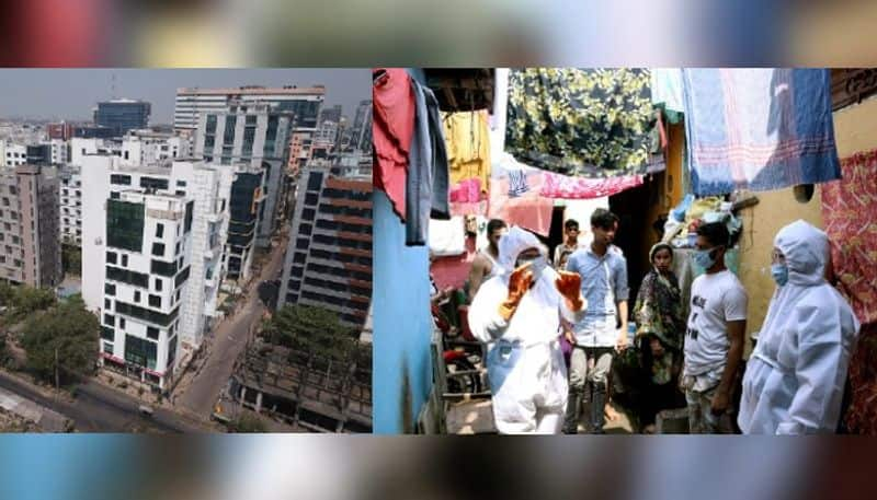 covid outspread rate in multi stored complex is higher than slums of kolkata RT
