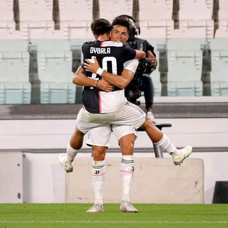 Cristiano scored a brace which  helps Juve to secure 3 points