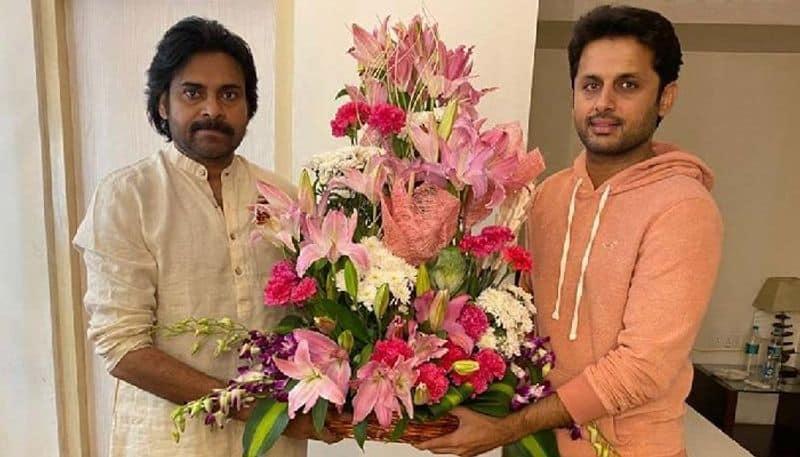 Nithin Special Invitation to Pawan Kalyan